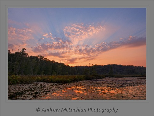 Horseshoe Lake Sunset_2213