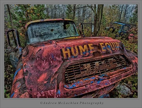 Rusty Old Wreck - Nik HDR Efex