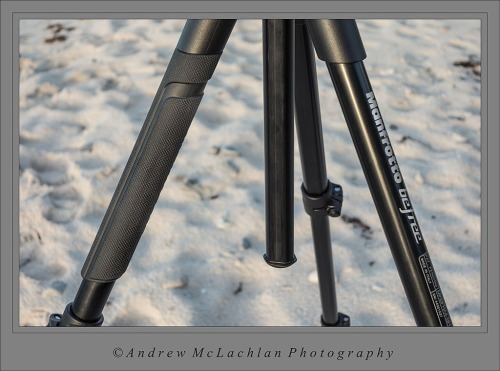 Rubber Carrying Handle Incorporated Onto Tripod Leg