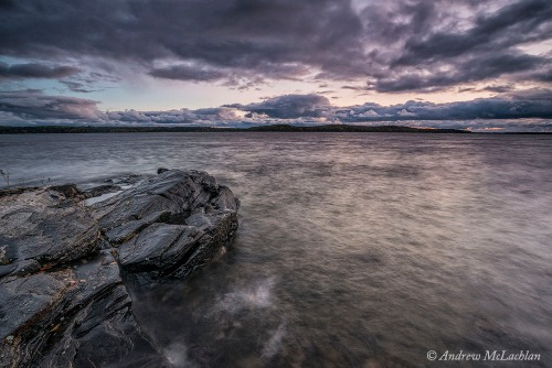 Georgian Bay at Sunset Nikon D800, Nikon 18-35mm lens @ 18mm, ISO 400, f16 @ 5 sec. Singh-Ray 3-stop Reverse Grad Filter