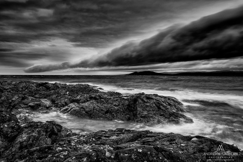Storm Clouds Over Lake Superior, Ontario, Canada